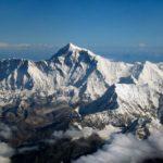 Zdjęcie przedstawia widok Mount Everest