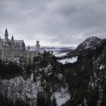 Zdjęcie przedstawia widok zamku