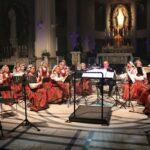 Koncert zespołu Mazowsze w Niepokalanowie