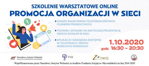 Baner Promocja Organizacji w Sieci