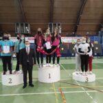 Na drugim stopniu podium stanęły Natalia Skrok, Aleksandra Rutkowska, Magdalena Zygmunciak i Dominika Gajda