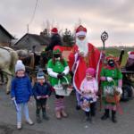 Spotkanie ze św. Mikołajem w Ludwikowie