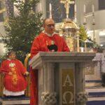 Mszy św. przewodniczył wikariusz Prowincji Matki Bożej Niepokalanej Zakonu Braci Mniejszych Konwentualnych o. Mirosław Bartos
