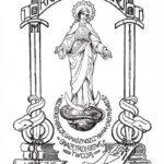 Pierwsza okładka Rycerza Niepokalanej (1922 r.)