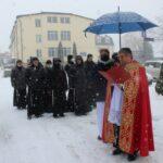 Modlitwa pod celą o. Maksymiliana