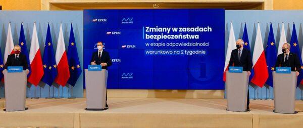 Konferencja prasowa w KPRM