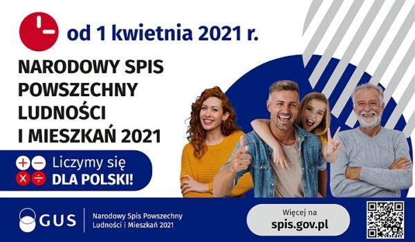 Narodowy Spis Powszechny Ludnosci i Mieszkań 2021