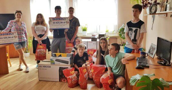 Złombol Teresin wspiera domy dziecka od kilku lat