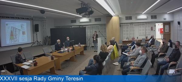 XXXVII sesja Rady Gminy Teresin