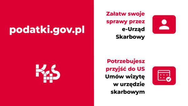 Plakat podatki.gov.pl