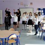 Uczniowie radośnie powitali nowe sale lekcyjne