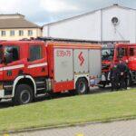 Do Niepokalanowa zawitały strażackie wozy bojowe z całej gminy