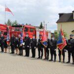 Obchody Dnia Strażaka zakończył apel przed strażnicą OSP w Niepokalanowie