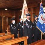 Uroczysta Msza św. z udziałem pocztów sztandarowych OSP w Teresinie i Szymanowie