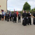 Uroczystości rozpoczęła zbiórka przed strażnicą OSP w Niepokalanowie