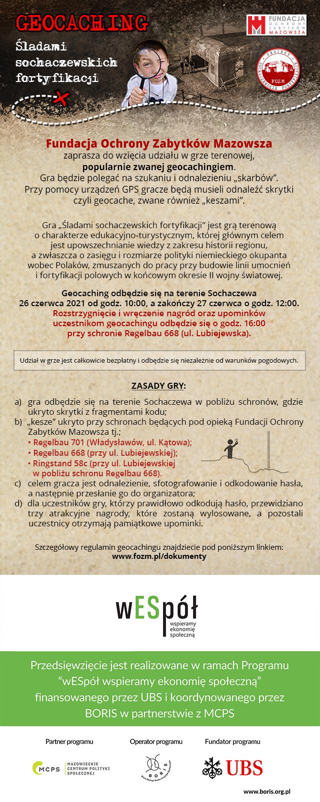 Plakat GEOKESZ