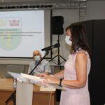 Sprawozdanie z realizacji programu profilaktyki i rozwiązywania problemów alkoholowych i programu przeciwdziałania narkomanii w Gminie Teresin za 2020 rok przedstawiła pełnomocnik wójta Maria Wójcicka
