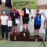 Wicemistrzostwo w kat. 100 kg wywalczył Krzysztof Chudecki