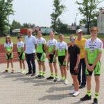 Młodzi zawodnicy LKS Mazowsze Teresin