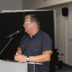 Sprawozdanie z działalności jednostek OSP gminy Teresin przedstawił Komendant Gminny asp. sztab. Dariusz Tartanus