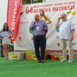 Wójt Marek Olechowski i dyrektor wyścigu Marcin Wasiołek podziękowali wszystkim zangażowanym w organizację 1. etapu