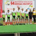 W zmaganiach amatorów MINI MazoviaTour udział wzięli zawodnicy sekcji kolarskiej LKS Mazowsze Teresin
