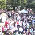 14 sierpnia. Na uroczystości w Niepokalanowie licznie przybyli parafianie i pielgrzymi z całej Polski (fot. NiepokalanówTV)