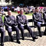 W Mszy św. 15 sierpnia uczestniczyli żołnierze 3. Warszawskiej Brygady Rakietowej Obrony Powietrznej (fot. NiepokalanówTV)