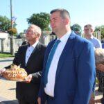 Chleb dożynkowu sołectwa Ludwików