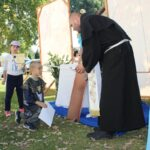 Dzieci pasowano na prawdziwych rycerzy i giermków Matki Bożej.