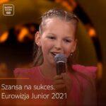 """Julia Kołodziejak wzięła udział w programie """"Szansa na sukces. Eurowizja Junior 2021"""""""