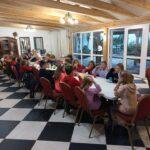 Na pamiątkę tego spotkania odbyła się uroczysta kolacja z kiełbaską w roli głównej