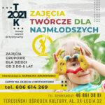 Plakat - Zajęcia twórcze dla najmłodszych