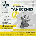 Plakat - zajęcia w pracowni tanecznej