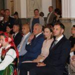 Starostowie tegorocznych Dożynek Państwo Ewa i Damian Kacprzakowie