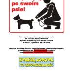 Plakat Właścicielu posprzątaj po swoim czworonogu