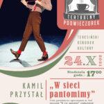 Plakat W sieci pantomimy
