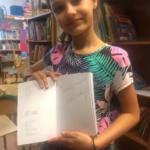 Książka Michała Odolczyka , a w niej podpis autora