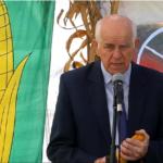 Tadeusz Szymańczak, przewodniczący Komitetu Organizacyjnego Dni Kukurydzy w Skrzelewie
